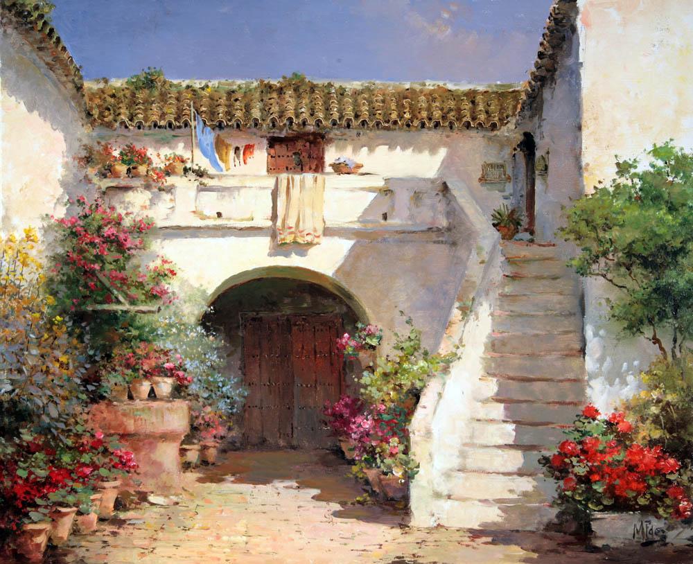 Patio andaluz skaldy3d - Un patio andaluz ...